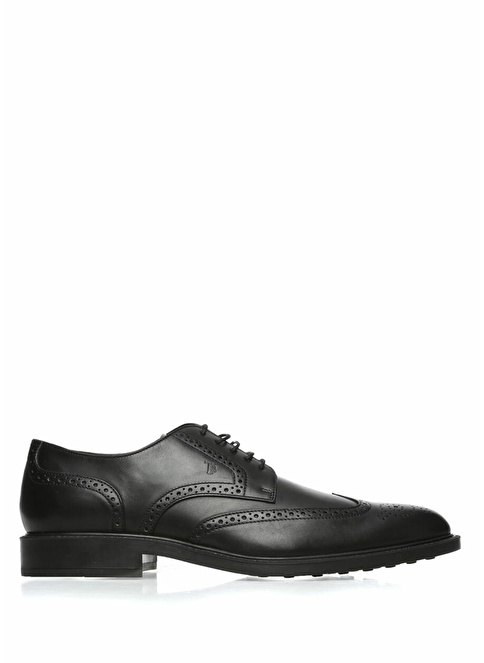 Tod's %100 Deri Bağcıklı Ayakkabı Siyah